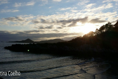 Ring og Kerry - White Strand, Final da tarde, quase pôr do Sol