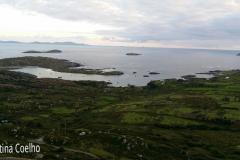 Ring og Kerry - Bealtra, vista sobre a Lambs Island e Abbey Island