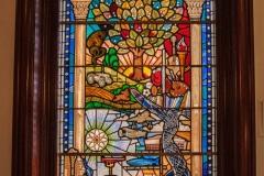 Câmara Municipal de Belfast- Detalhes do interior