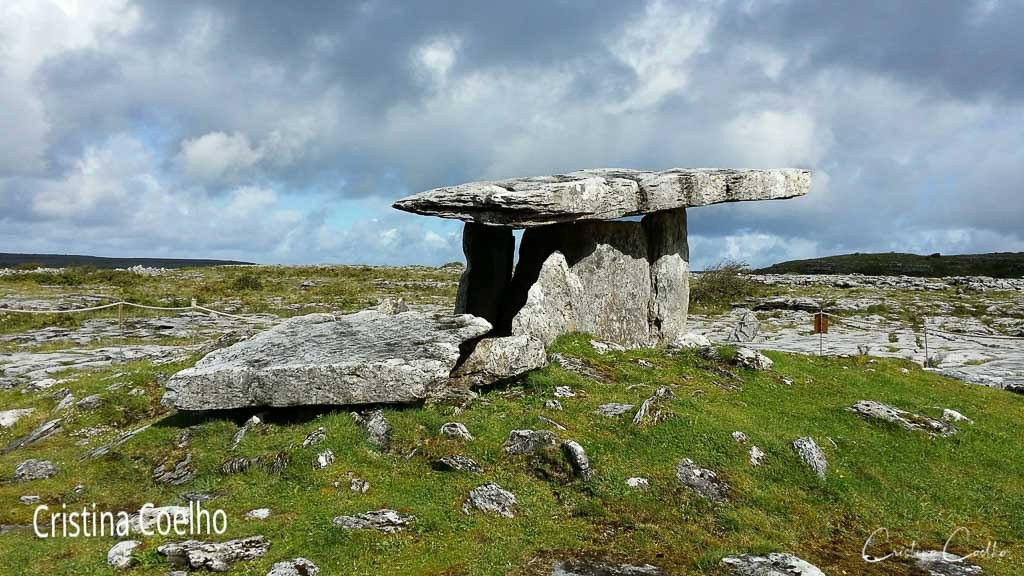 Tomb of the Neolithic period located in the Burren