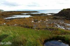 Costa da Irlanda do Norte, baia de Waterfoot