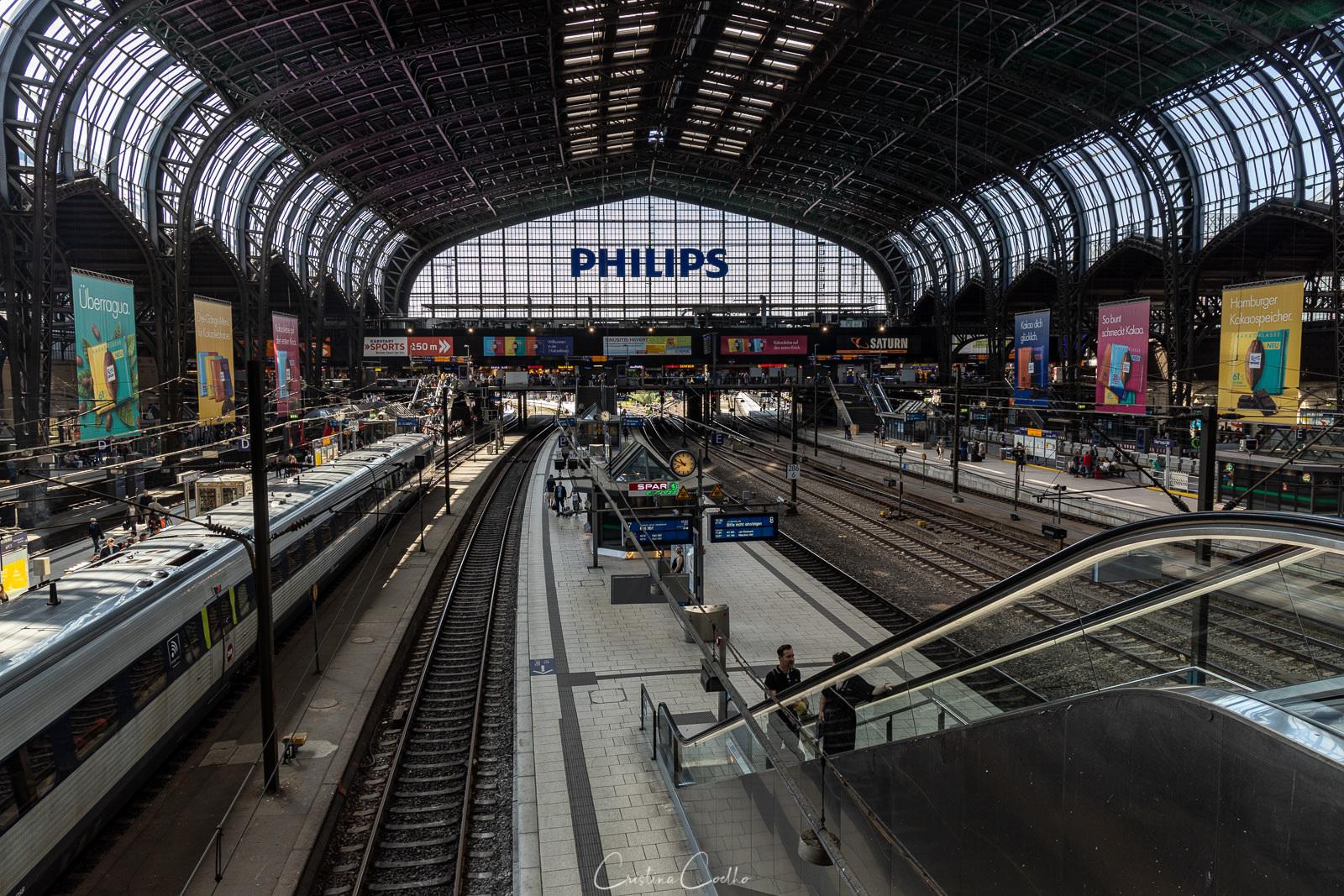 Main Station of Hamburg