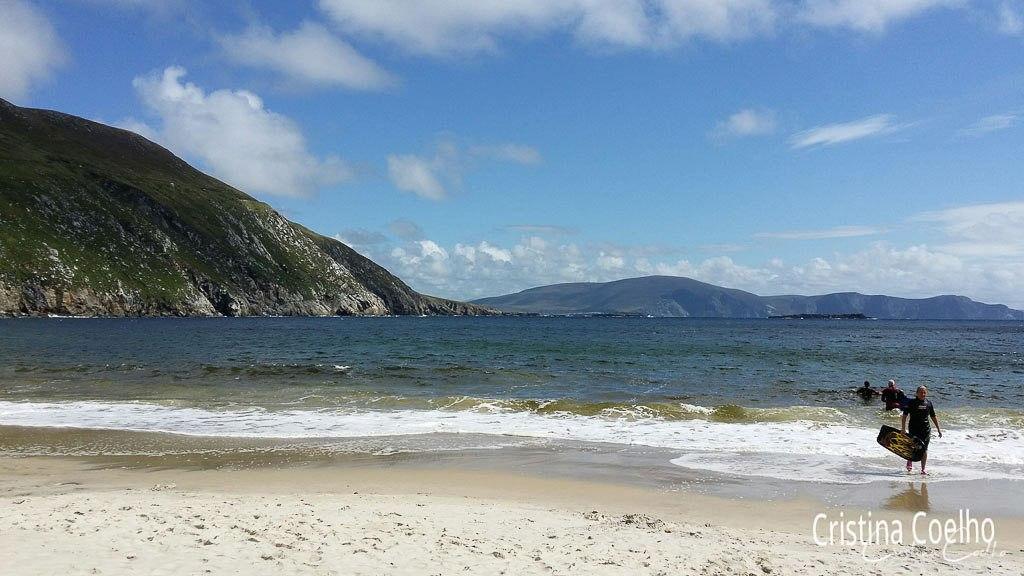 Ilha Achill - Praia Keem