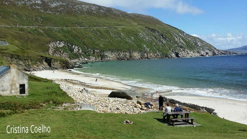 Praia Keem em Achill