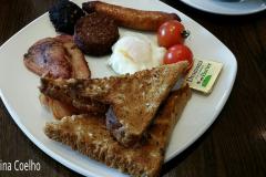 Mini Pequeno Almoço Irlandês em Dunfanaghy - Hotel Restaurante Arnolds