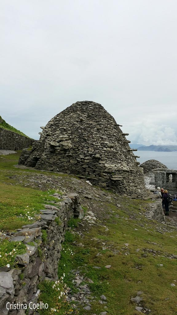 Main building of the monastery where the community met to meditate - Skellig Michael