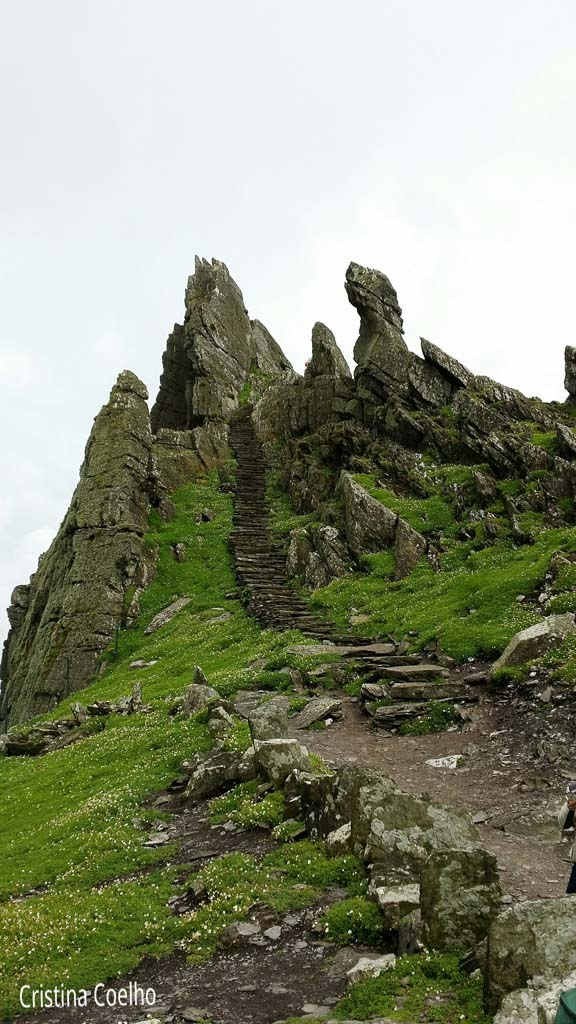without anyone ... - Skellig Michael