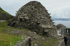 Edificio principal do mosteiro onde a comunidade se reunia para meditar - Skellig Michael