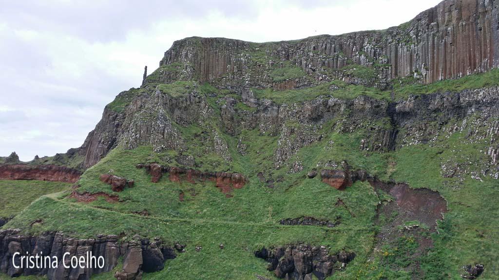 Bushmills, Calçada dos Gigantes GB-IR, Calçada dos Gigantes GB_IR, Causeway, Irlanda do Norte, Monumentos, Parques
