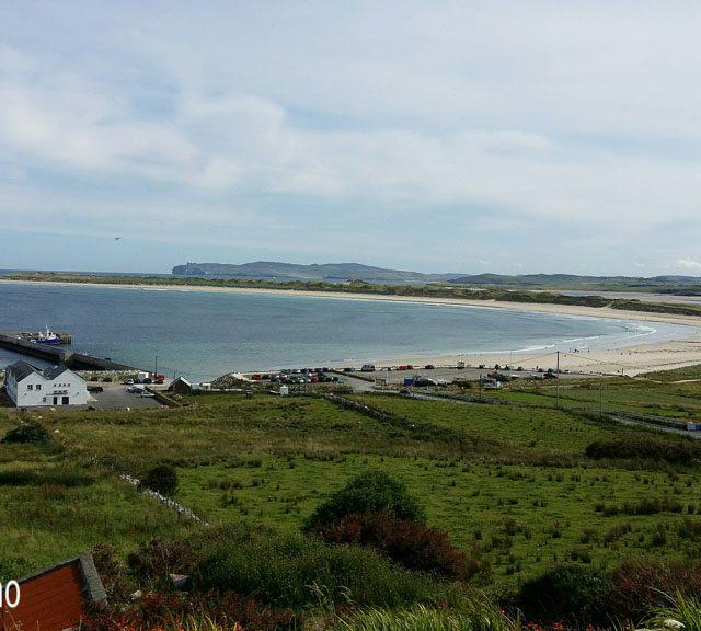 Donegal, Férias, Irlanda, Magheraroarty Harbour and beach, Meenlaragh, Viagens