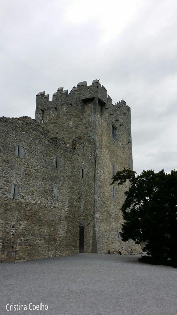 Castles, Ireland, Kerry, Killarney, Ross Castle IR