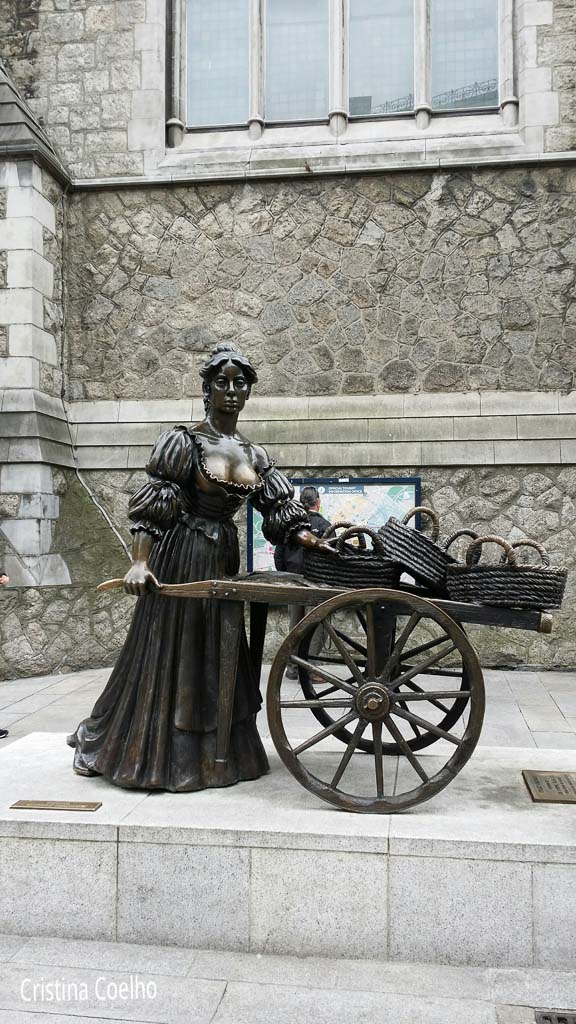 Dublin, Esculturas, Irlanda, Molly Malone IR