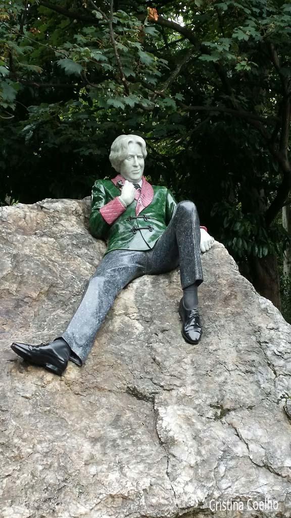 Dublin, Esculturas, Irlanda, Oscar Wild IR